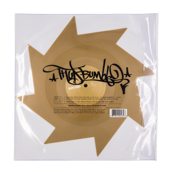 Vinyl timecode Serato X Thud Rumble Weapons Of Wax #1