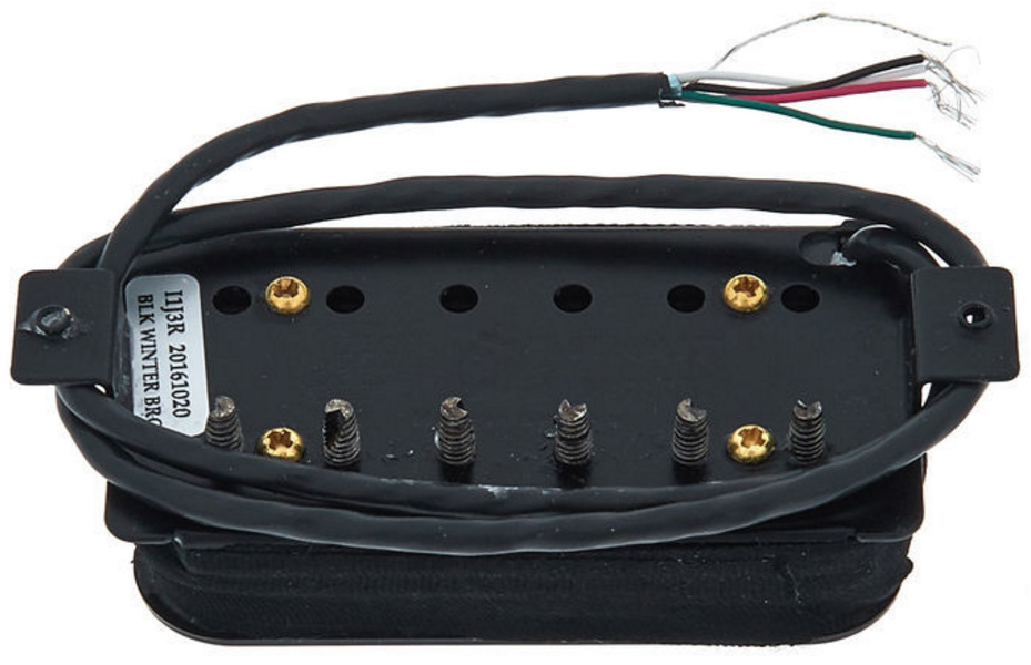micro guitare electrique seymour duncan black winter. Black Bedroom Furniture Sets. Home Design Ideas