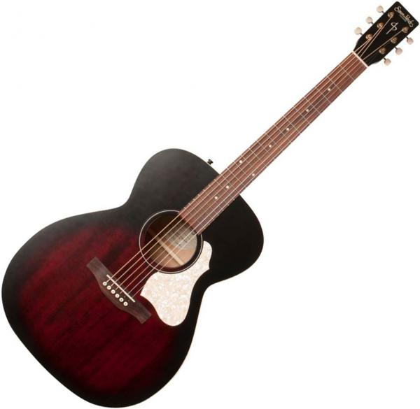 Guitare folk Simon & patrick Songsmith Concert Hall +Bag - tennessee red