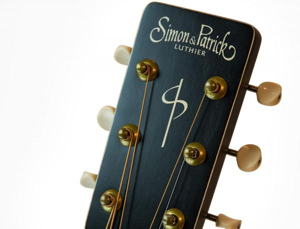 Guitare folk Simon & patrick Songsmith +Bag - faded bourbon burst