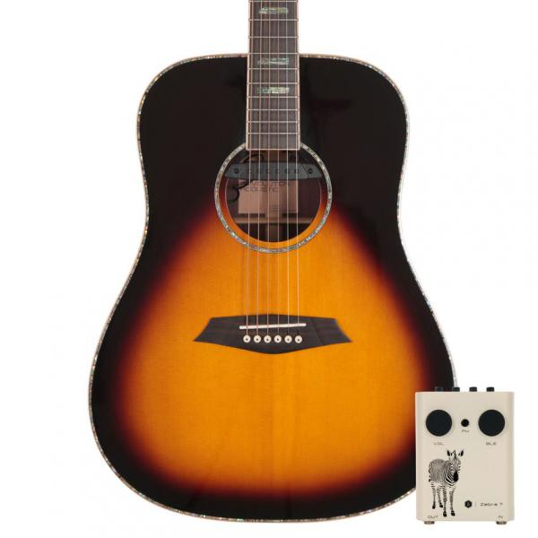 Guitare folk Sire R7 DZ VS - vintage sunburst