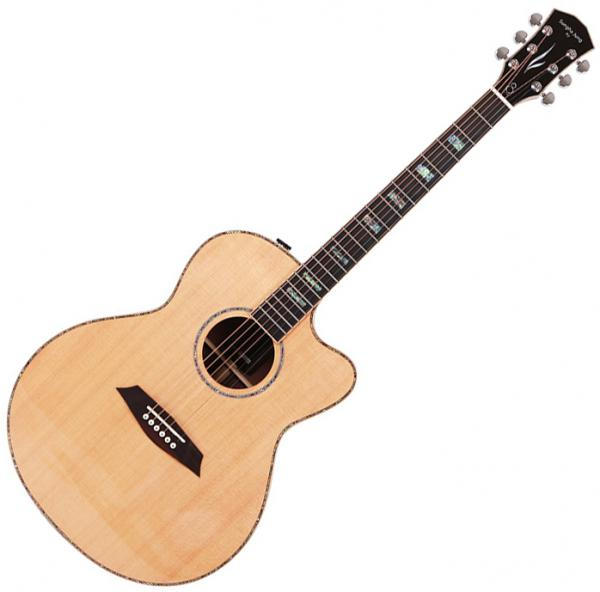 Guitare folk & electro Sire Sungha Jung A7 GS NT - Natural