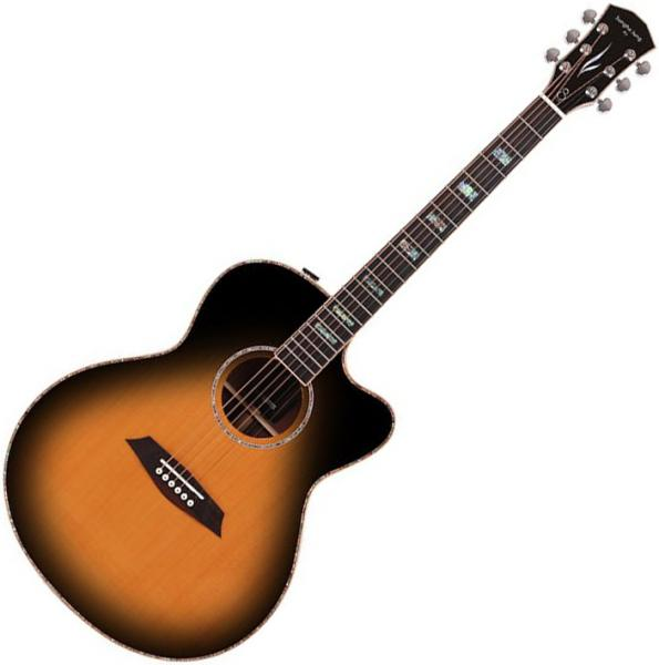 Guitare folk & electro Sire Sungha Jung A7 GS VS - Vintage sunburst