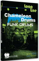 Banque de sons instrument virtuel Sonivox Chameleon Volume 1 Funk Drums