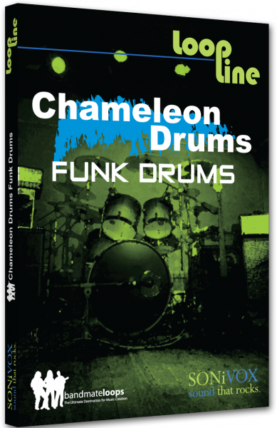 Instrument virtuel Sonivox Chameleon Volume 1 Funk Drums