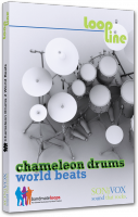 Banque de sons instrument virtuel Sonivox Chameleon Volume 2 World Beats
