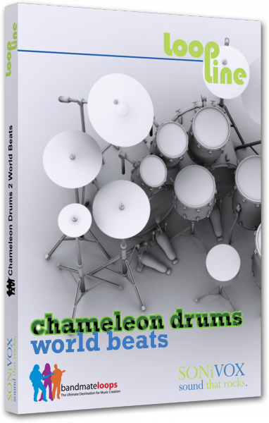Instrument virtuel Sonivox Chameleon Volume 2 World Beats