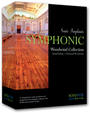 Instrument virtuel Sonivox Sonic Implants Symphonic Woodwind Collection