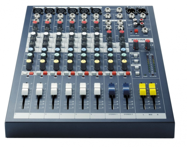 Table de mixage analogique Soundcraft EPM6