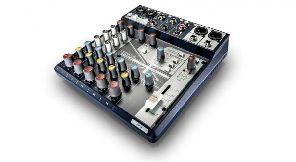 Table de mixage analogique Soundcraft NotePad-8FX