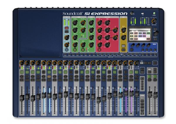 Table de mixage numérique Soundcraft SI Expression 2