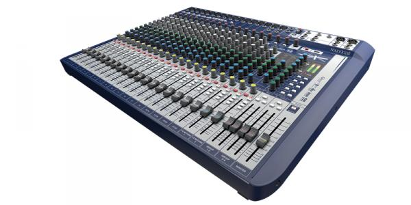 Table de mixage analogique Soundcraft Signature 22