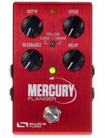 Pédale chorus / flanger / phaser / modul. / trem. Source audio Mercury Flanger One Series