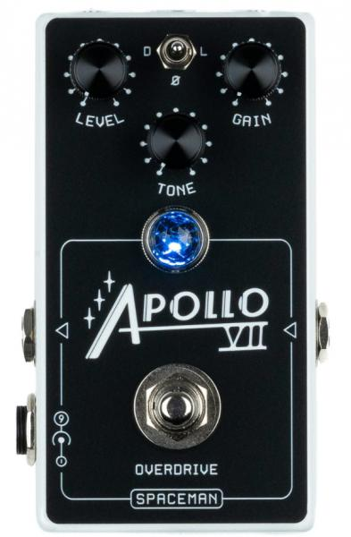 Pédale overdrive / distortion / fuzz Spaceman effects Apollo VII Overdrive Ltd - White