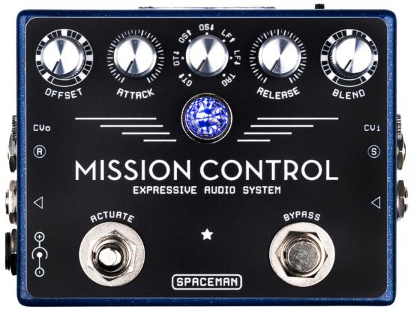 Pédale chorus / flanger / phaser / modul. / trem. Spaceman effects Mission Control Expressive Audio System Ltd - Blue