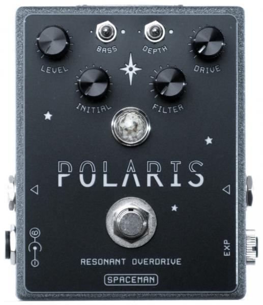 Pédale overdrive / distortion / fuzz Spaceman effects Polaris Resonant Overdrive Ltd - Moonrock