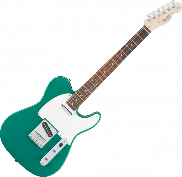 Guitare électrique solid body Squier Affinity Series Telecaster (LAU) - race green