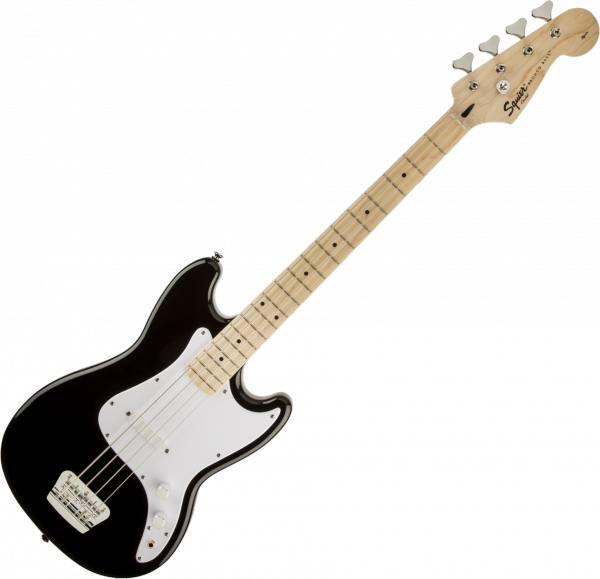 Basse électrique short scale Squier Bronco Bass (MN) - Black