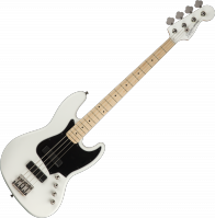 Basse électrique solid body Squier Contemporary Active Jazz Bass HH - Flat white