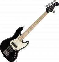 Basse électrique solid body Squier Contemporary Active Jazz Bass V HH - Black