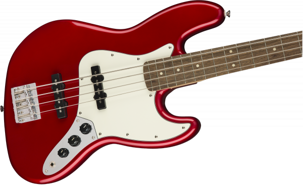 Basse électrique solid body Squier Contemporary Jazz Bass (LAU) - metallic red