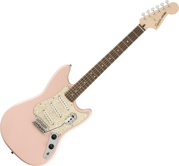 Guitare électrique solid body Squier Paranormal Cyclone - Shell pink