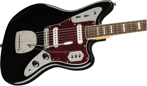 Guitare électrique solid body Squier Classic Vibe '70s Jaguar (LAU) - black