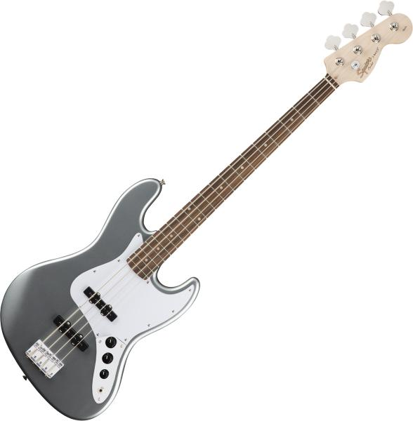Basse électrique solid body Squier Affinity Series Jazz Bass (LAU) - slick silver