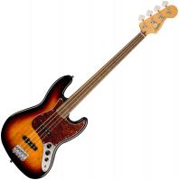 Basse électrique solid body Squier Classic Vibe '60s Jazz Bass Fretless (LAU) - 3-color sunburst