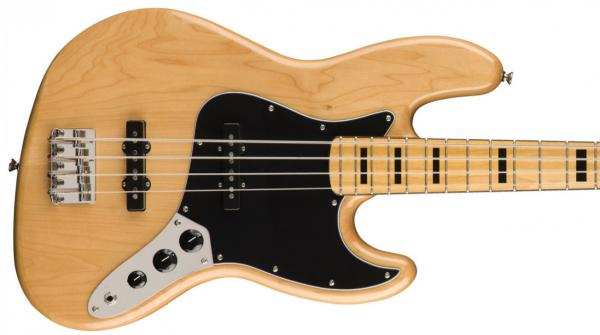 Basse électrique solid body Squier Classic Vibe '70s Jazz Bass (MN) - natural