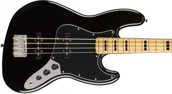 Basse électrique solid body Squier Classic Vibe '70s Jazz Bass (MN) - black