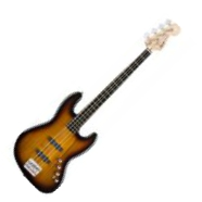 Jazz Bass Deluxe IV Active - brown sunburst