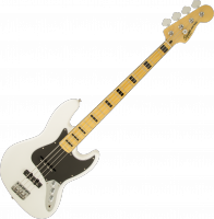 Basse électrique solid body Squier Jazz Bass Vintage Modified '70s - Olympic white