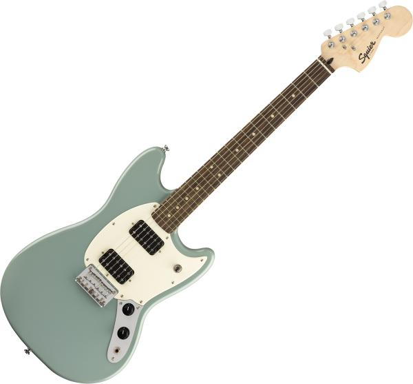 Guitare électrique solid body Squier Bullet Mustang HH 2019 - sonic grey