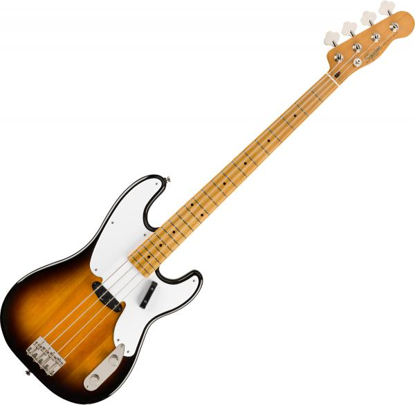 Basse électrique solid body Squier Classic Vibe '50s Precision Bass 2019 - 2-color sunburst