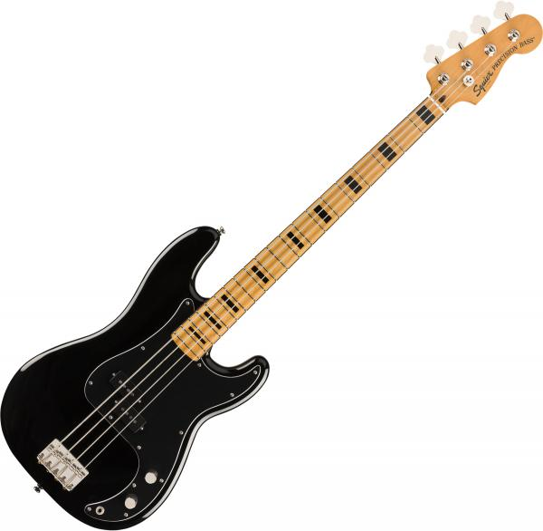 Basse électrique solid body Squier Classic Vibe '70s Precision Bass 2019 - black