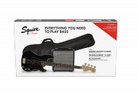 Pack basse electrique Squier Affinity Series Precision Bass PJ Pack 2018 - Black