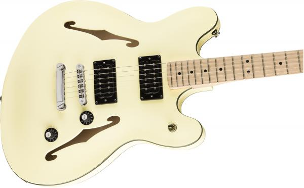 Guitare électrique solid body Squier Affinity Series Starcaster - olympic white