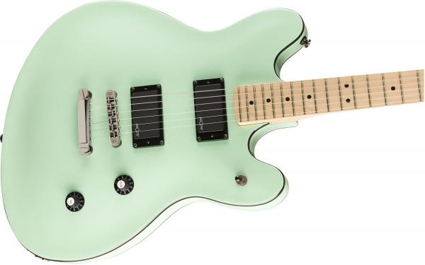 Guitare électrique solid body Squier Contemporary Active Starcaster - surf pearl