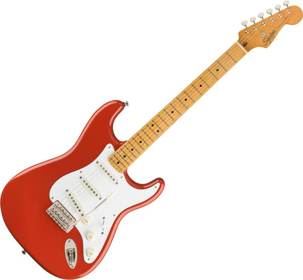Guitare électrique solid body Squier Classic Vibe '50s Stratocaster - Fiesta red