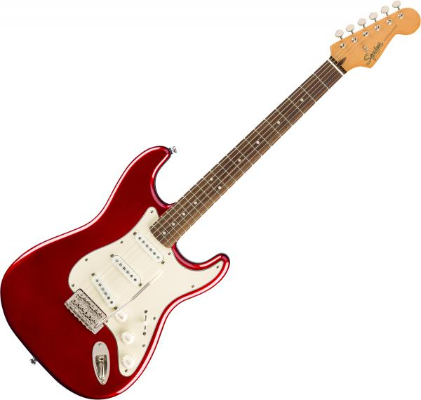 Guitare électrique solid body Squier Classic Vibe '60s Stratocaster - Candy apple red