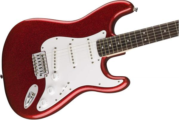 Guitare électrique solid body Squier FSR Bullet Stratocaster Ltd (LAU) - red sparkle