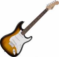 Guitare électrique solid body Squier Bullet Strat HT SSS (LAU) - Brown sunburst