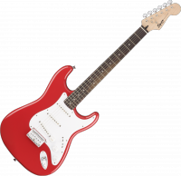 Guitare électrique solid body Squier Bullet Strat HT SSS (LAU) - Fiesta red