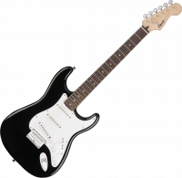 Guitare électrique solid body Squier Bullet Strat HT SSS (LAU) - Black
