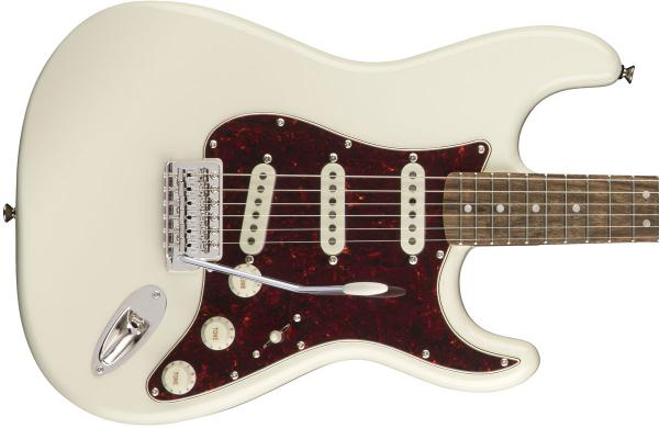 Guitare électrique solid body Squier Classic Vibe '70s Stratocaster (LAU) - olympic white