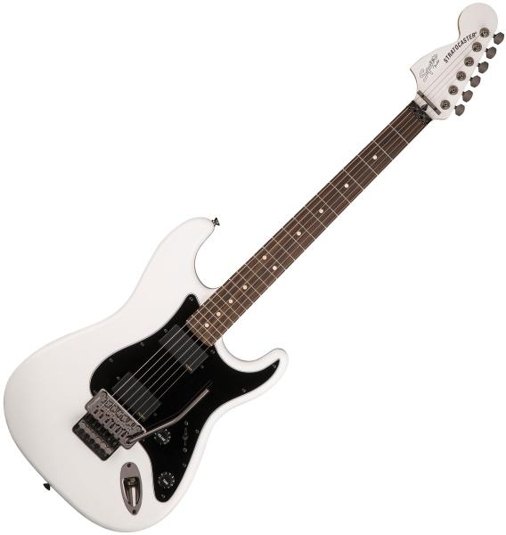 Guitare électrique solid body Squier Contemporary Active Stratocaster HH (LAU) - olympic white