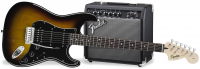 Affinity Series Stratocaster HSS Pack - Brown sunburst