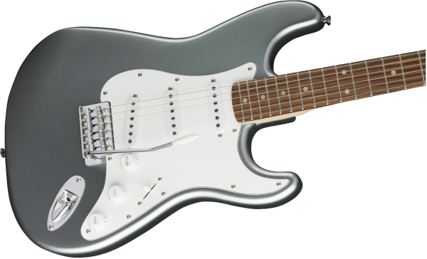 Guitare électrique solid body Squier Stratocaster Affinity Series (LAU) - slick silver