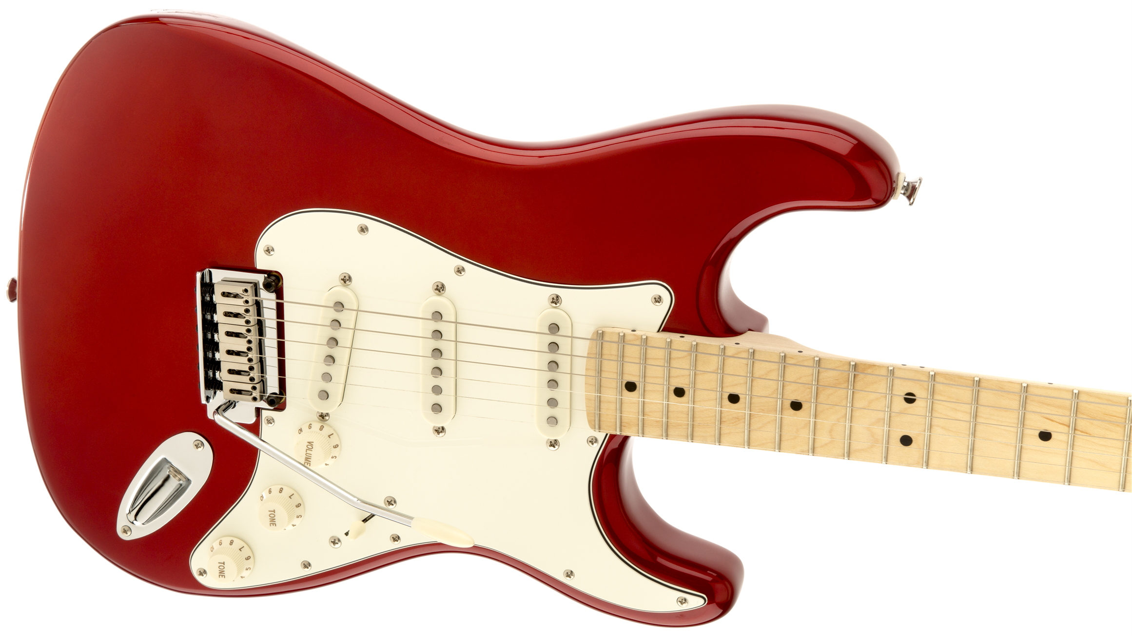 Guitare électrique solid body Squier Standard Stratocaster ...
